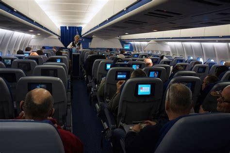 klm economy comfort class bonus flashback tri jet twilight inflight onboard one of