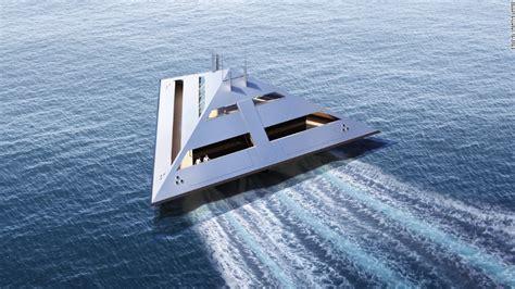 mega catamaran sailing yachts tetrahedron super yacht the boat that can fly