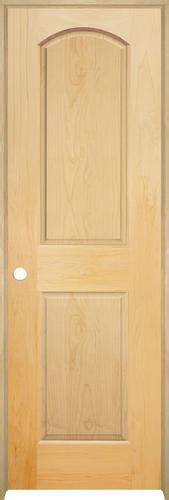 Mastercraft Maple Arched Raised 2 Pnl Prehung Int Door Prehung Maple Interior Doors