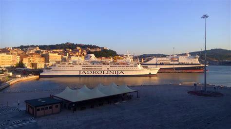 boat from split to italy motorcycle italy croatia ferry