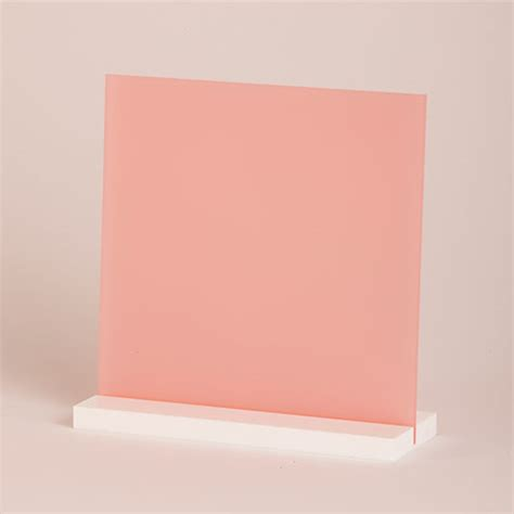 Acrylic Sheet 5mm 5mm pink frosted acrylic cut to size