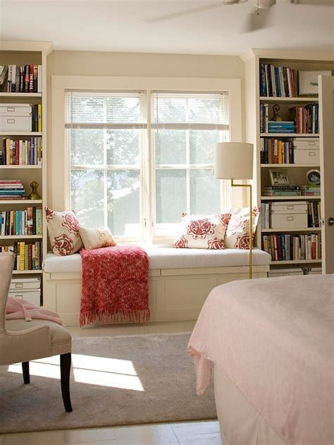 how to build a window seat with bookshelves window seat with bookcases on both sides happy home