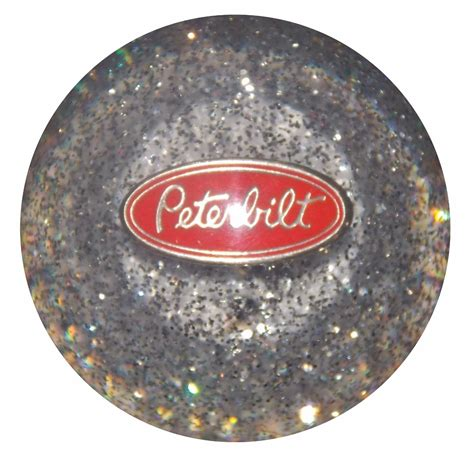 Glitter Shift Knob clear glitter peterbilt shifter knob