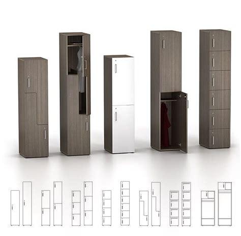 Watson Desking by Watson Desking Zone Personal Storage Lockers