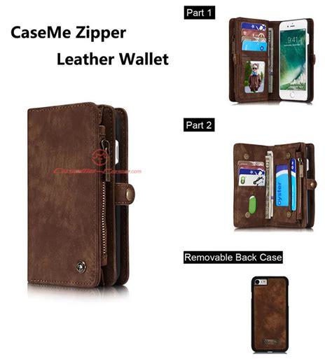 Kece Caseme Iphone 66s Wallet Pouch Card Leather Berkualitas caseme iphone 8 zipper wallet detachable folio brown