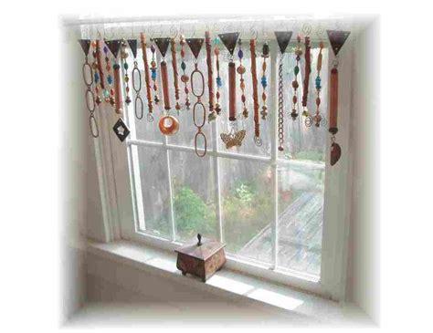 beaded window treatments raku dreams beaded collage valance window treatment