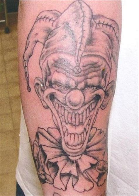 the gallery for gt evil clown tattoos drawings pics photos evil clown tattoos designs and meaning