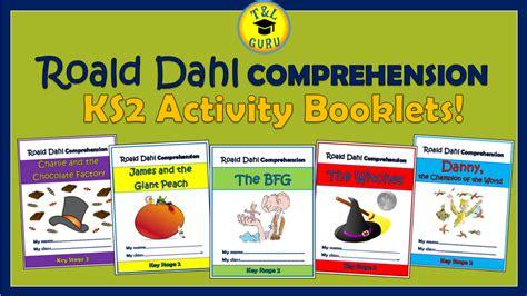 roald dahl biography comprehension ks2 roald dahl ks2 comprehension activity booklets bundle by