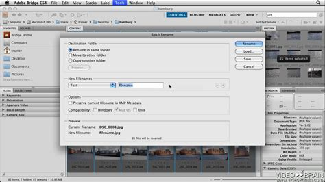 adobe photoshop tutorial pdf cs4 photoshop cs4 tutorial batch renaming files in adobe