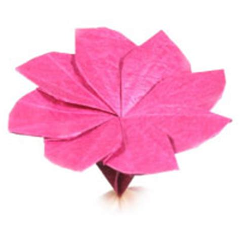 Origami 4 Petal Flower - how to make origami flower