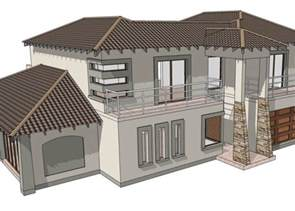 Bali Style House Floor Plans Modern Style House Plan 4 Bedroom Double Storey Floor