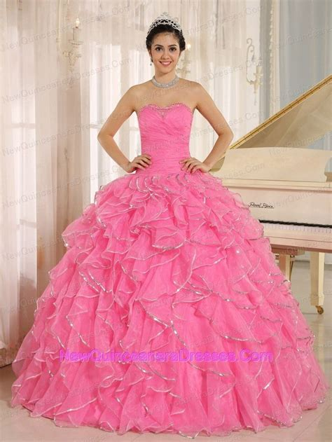 design your quinceanera dress 2013 ruffles and beaded for rose pink quinceanera dress