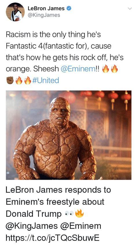 donald trump reacts to eminem 25 best memes about racism racism memes