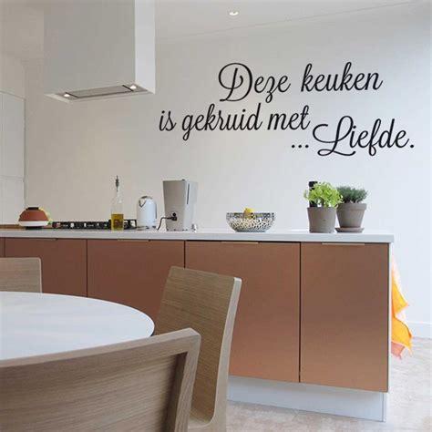 sticker keuken decoratie stickers keuken