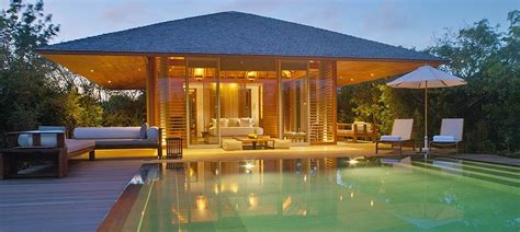 Pavillon Pool by Deluxe Pool Pavilion Turks Caicos Accommodation Aman