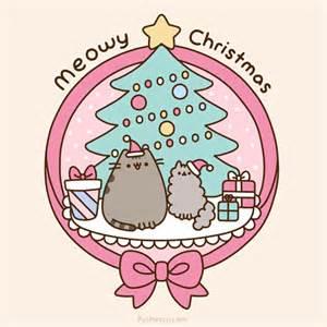 merry christmas pusheen pusheen the cat photo 39157187