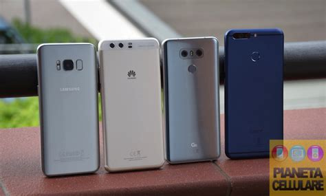 Samsung Galaxy S8 vs LG G6 vs Huawei P10 Plus vs Honor 8