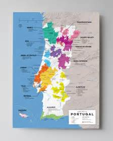 wine map what wines to drink from portugal by region wine folly
