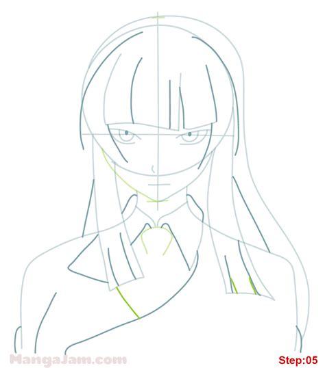 tutorial kagura how to draw kagura mikazuchi from fairy tail mangajam com