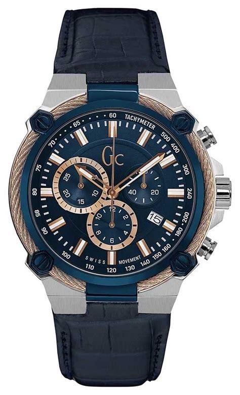 Gc For Cronograph gc mens cableforce chronograph blue y24001g7
