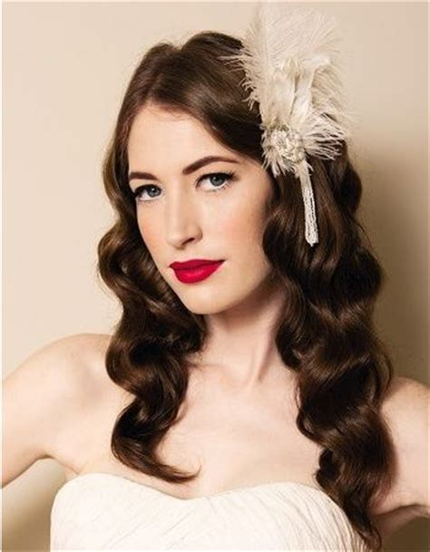 Vintage Wedding Hairstyles For Curly Hair by 4 Glamorous Vintage Wedding Hairstyles Pretty Designs