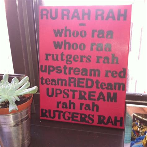 rutgers scarlet knights fight song canvas wall art 1000 images about rutgers football on pinterest