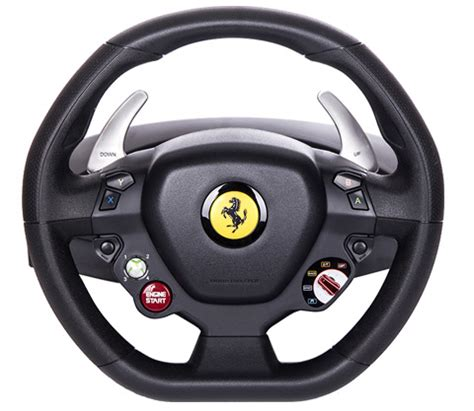 Thrustmaster Italia Racing Wheel For The Thrustmaster 458 Italia Steering Wheel Xbox