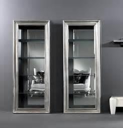 Designer Display Cabinets Uk Tl Furniture Designer Display Cabinets K2 Silver Leaf
