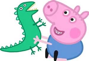 Dino Bedding Peppa Pig Y George Conoce Mas De Ellos Personajes Pepa Pig