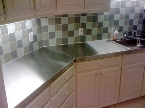 How To Stainless Steel Countertops by Stainless Steel Islands Door Styles Accessories