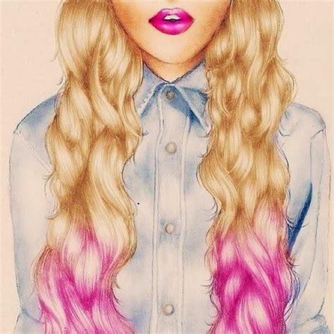 imagenes hipsters de amigas chica retro dibujar pinterest peinados dibujos