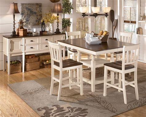 dining room set high tables pub table sets furniture decor showroom