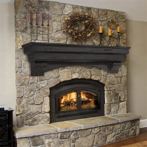 pearl mantel celeste arched pine fireplace mantel or tv