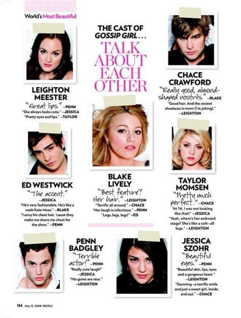 the real gossip girl the young cast of quot gossip girl quot talk about each other