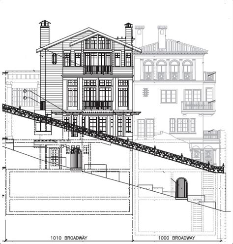 inground house plans underground garage house plans