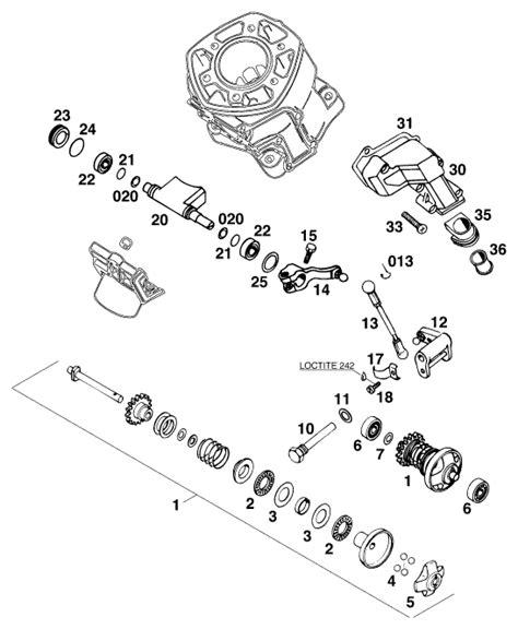 Ktm Part Number Search Ktm Fiche Finder Exhaust 125 95 Spare Parts For