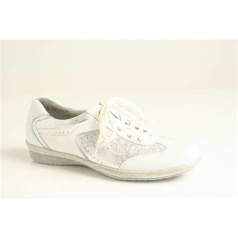 waldlaufer waldlaufer style quot gelja quot white leather lace up