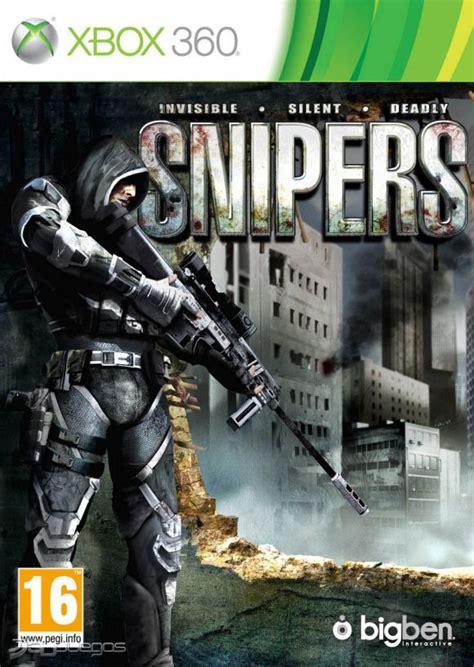 imagenes de videojuegos de guerra car 225 tula oficial de snipers xbox 360 3djuegos