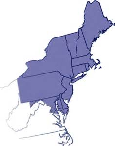 search results for us map northeast region states and