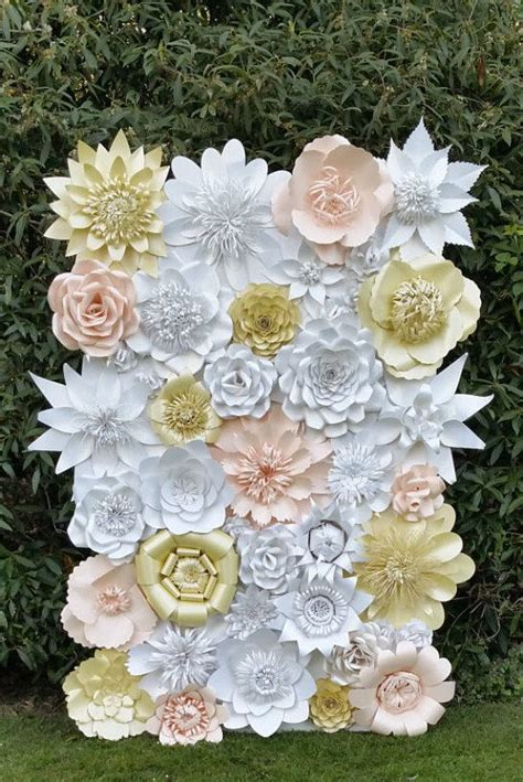 Paper Flower Ideas - 17 best ideas about paper flower wall on