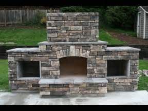 How To Build Outdoor Fireplace - diy building an outdoor fireplace youtube