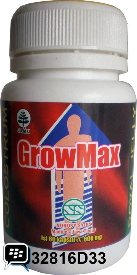 Grow Max Peninggi Badan ady s product kapsul growmax obat peninggi badan