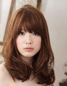 eye grazing bangs 25 gorgeous asian hairstyles for girls