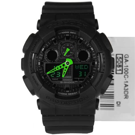 Ga 100c ga 100c 1a3er casio g shock analog digital sports ga