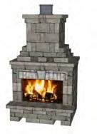 Fireplaces Brighton by Belgard Harmony Asp Enterprises Midwest Erosion