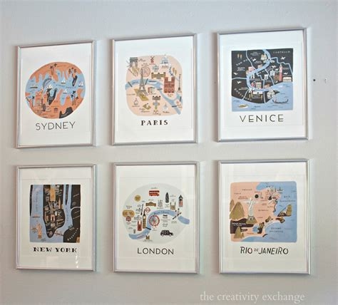 2016 rifle paper co frameable calendars and gallery wall