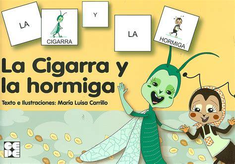 la cigarra y la la cigarra y la hormiga colecci 243 n pictogramas 18 mar 237 a luisa carril