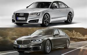 Bmw Vs Audi Spec Comparison Audi S8 Plus Vs Bmw M760li Xdrive