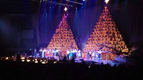 the singing christmas trees show orlando florida youtube