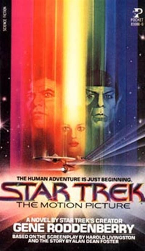 motion picture books trek the motion picture novel